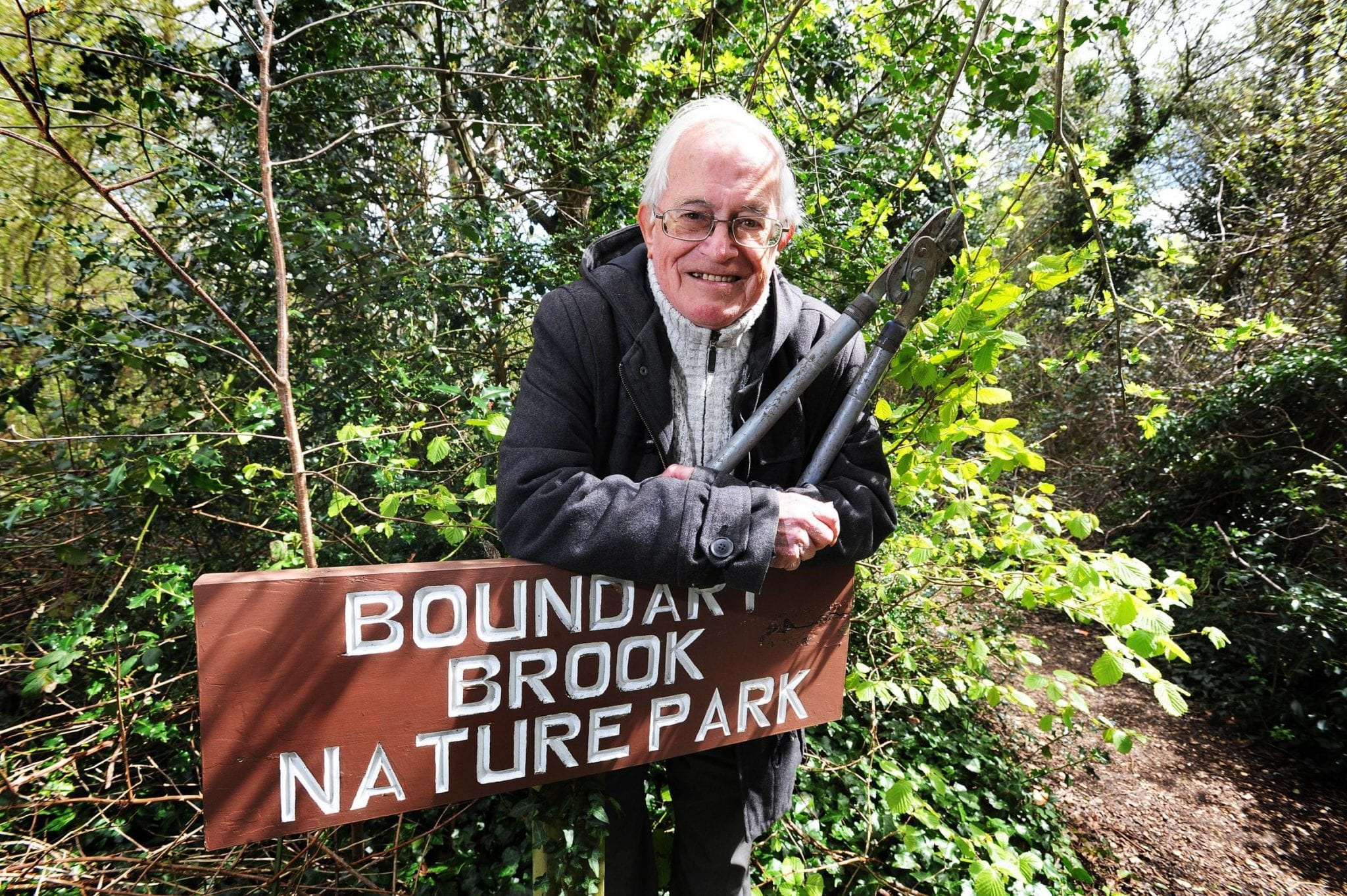 In 1991, Boundary Brook Nature Park wins an OSCA (Oxfordshire special conservation award) in recognition of its contribution to conservation in Oxfordshire
