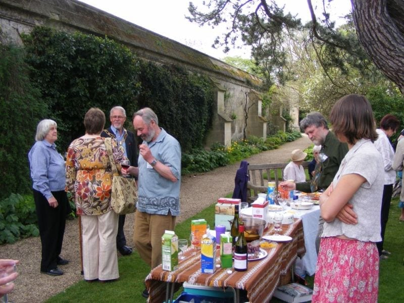 OUWG celebrates its 20th anniversary in 2008 at the Botanical Gardens